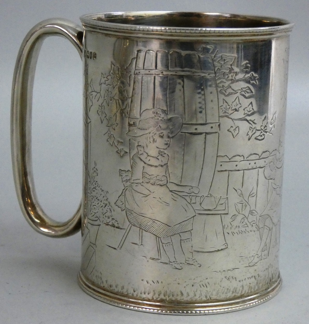 ROYAL AIR FORCE 74 SQUADRON BEER STEIN