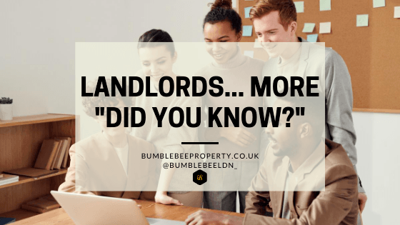 Landlords... More