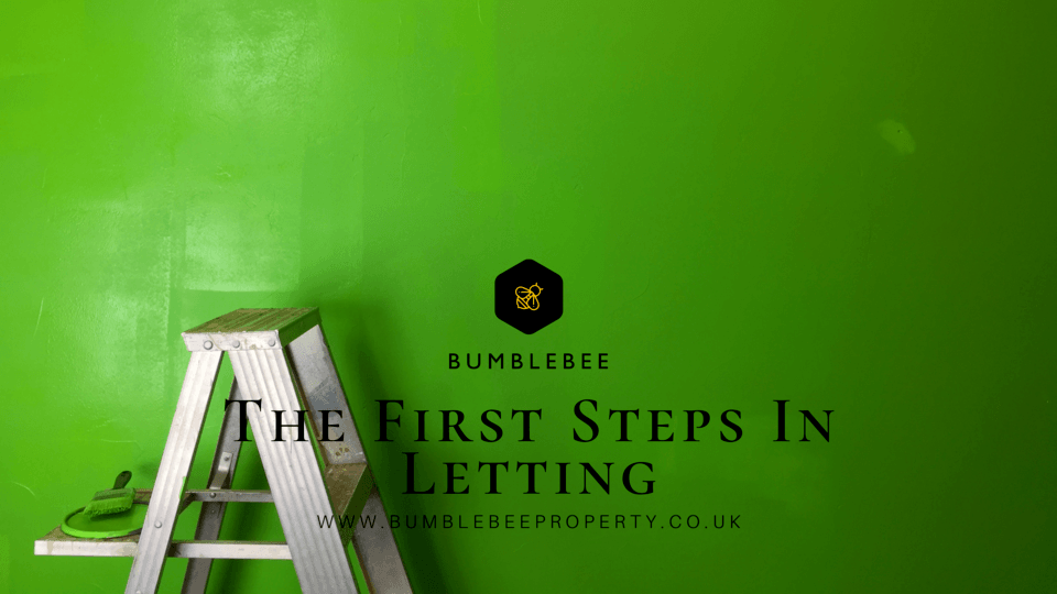 The First Steps in Letting