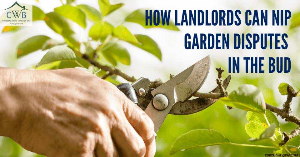 How Kent Landlords Can Nip Garden Disputes in the Bud