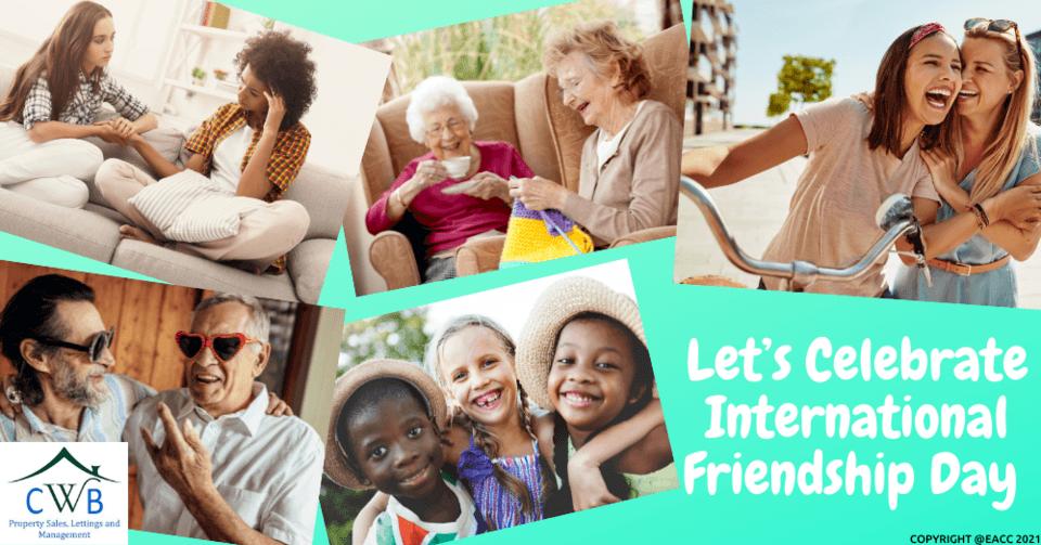 Let's Celebrate International Friendship Day in Kent