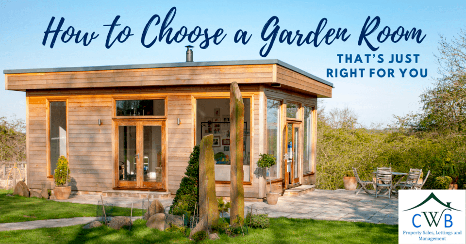 How to Choose a Garden Room That's Just Right for You