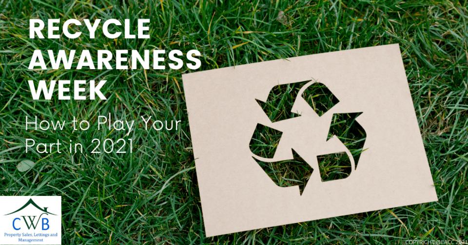 Recycle Awareness Week in Kent