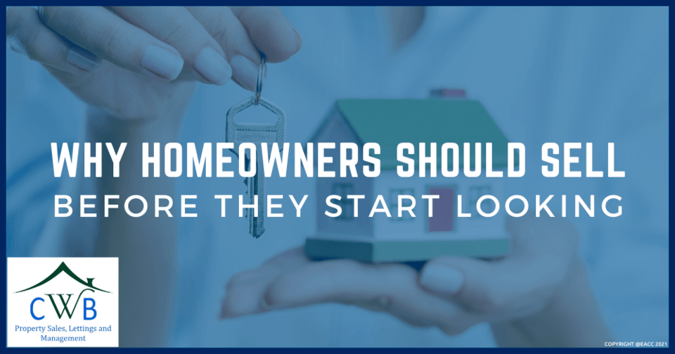 Why Homeowners Should Sell Before They Start Looking