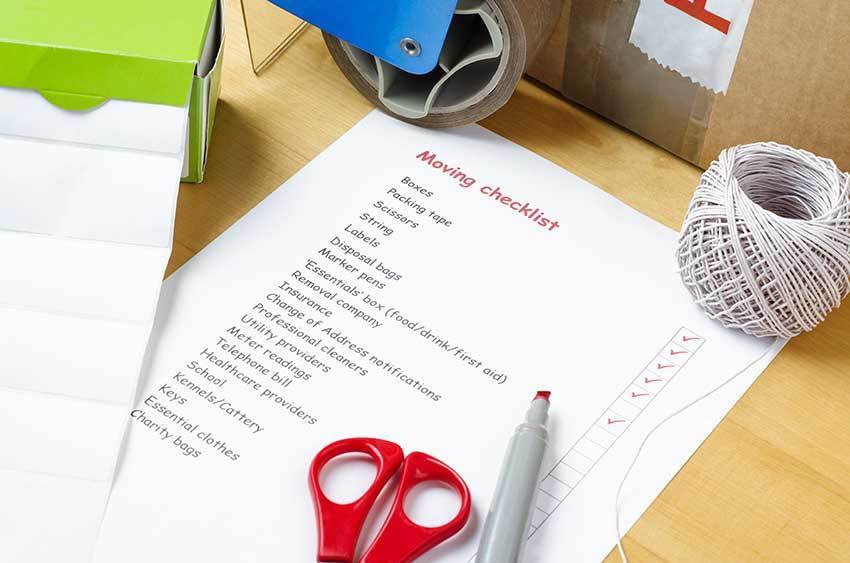 Check List - Things to do before you Move