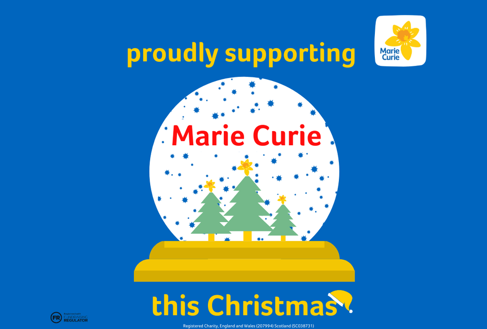 HELP UP US TO HELP THE MARIE CURIE CHRISTMAS APPEAL