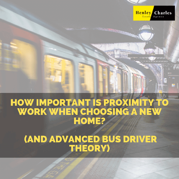 How important is proximity to work when choosing a new home? (and advanced bus driver theory) image