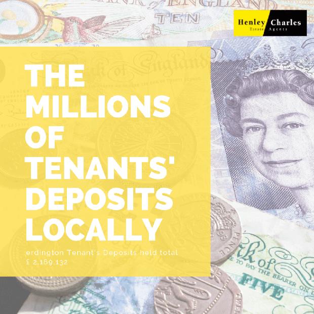 Erdington Tenant\\\\\\\'s Deposits held total of £2,169,132 image