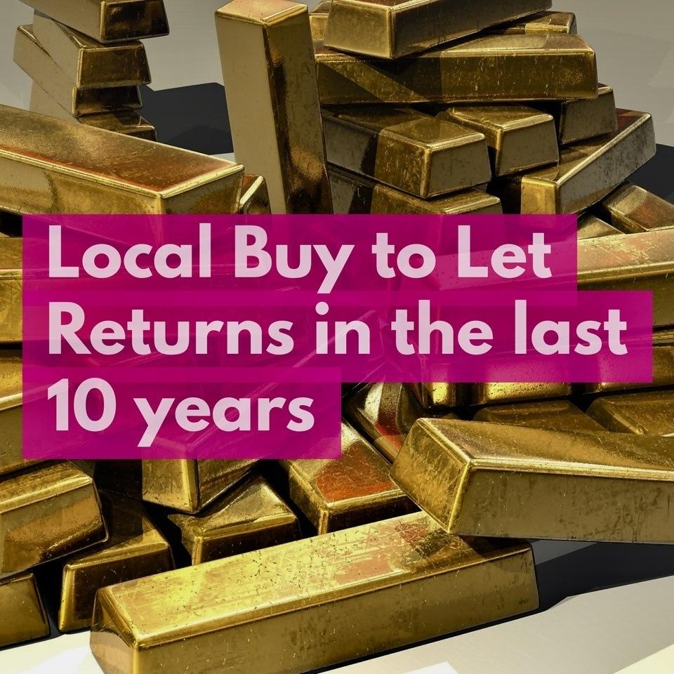 Erdington Buy To Let Annual  Returns Hit 13.55% in Last 10 Years image