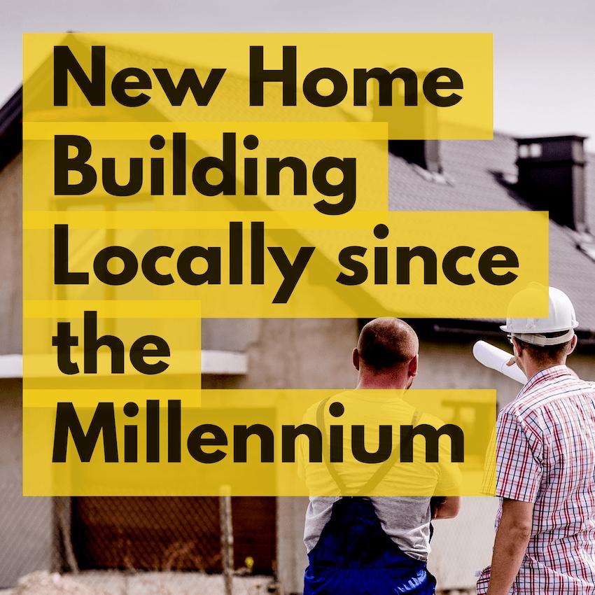 New Home Building in Erdington and Birmingham 2018 rises to 57.3% above the post Millennium average image