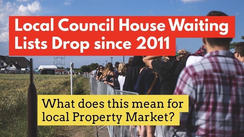 Erdington and Birmingham Council House Waiting List Drops by 61.1% since 2011 image