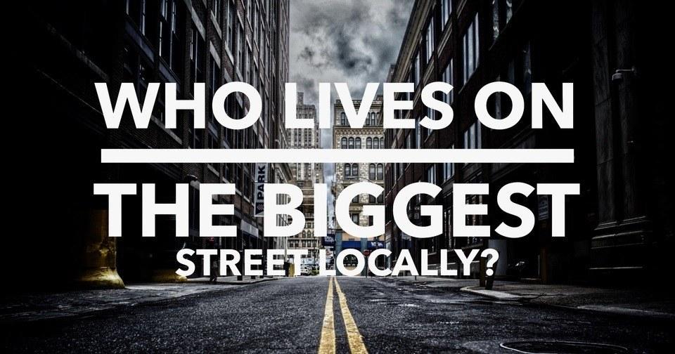 What's the biggest street in Erdington (B23)? image