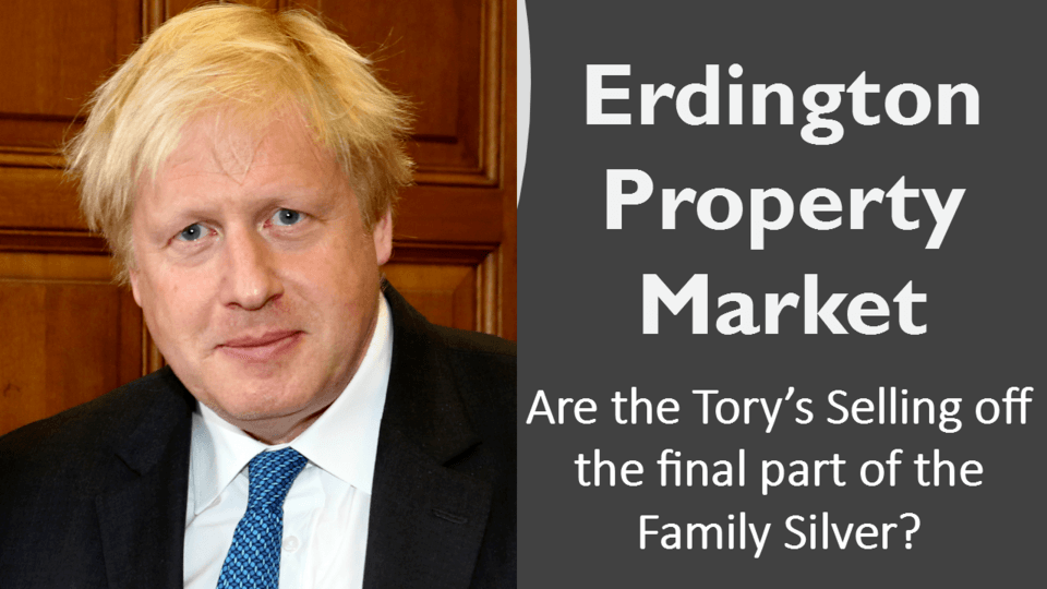 Are the Tory's Selling Off the Final Part of the Family Silver? 2,544 Erdington Housing Association Households & the Right to Buy Their Homes image
