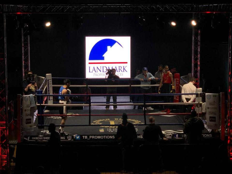 White Collar Boxing sponsored by Landmark Property Services