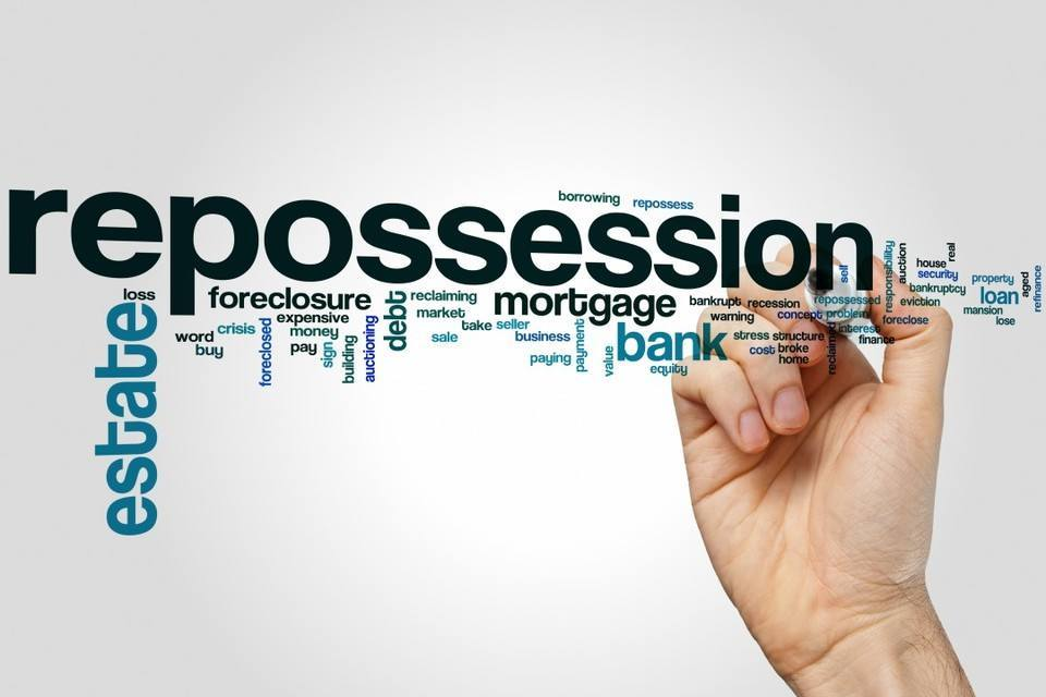 THE NORTH WEST IS A REPOSSESSION HOTSPOT
