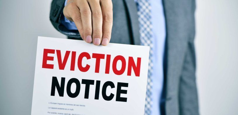 Eviction Notice Periods Return to Normal Next Month