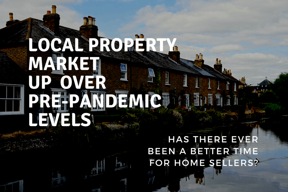 Wokingham Property Market Improved by 57.1% Over Pre-pandemic Levels! Has there ever been a better time for Wokingham home sellers?