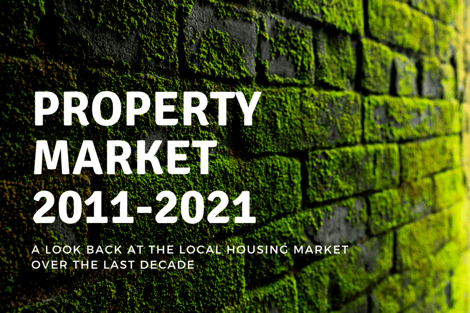 Wokingham Property Market: 2011-2021!  A look back at the Wokingham housing market over the last decade....