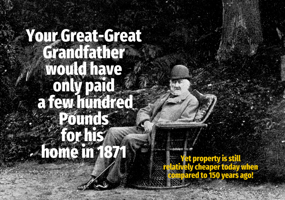 Your Great-Great Wokingham Grandfather Would Only Have Paid £563 10s 5d for his Wokingham Home in 1871