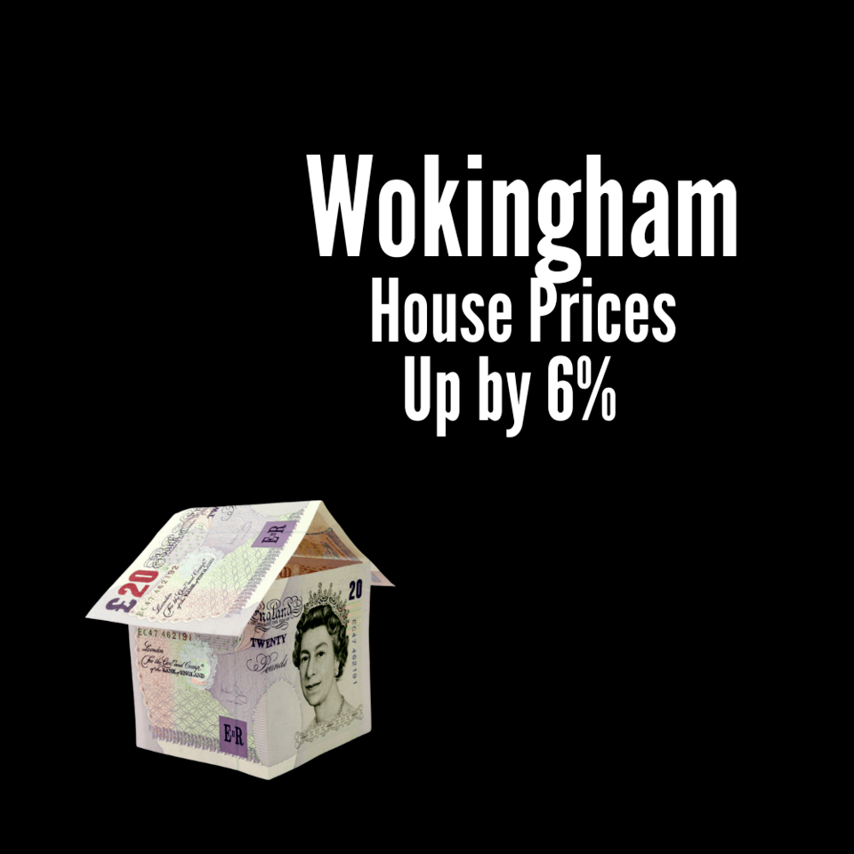 Wokingham Homes Asking Prices Up 6%