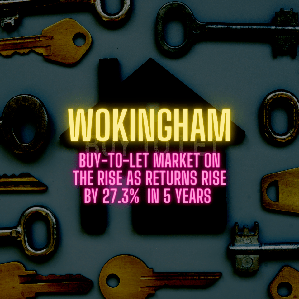 Wokingham Buy-to-Let Market on the Rise as Returns Rise by 27.3% in 5 Years