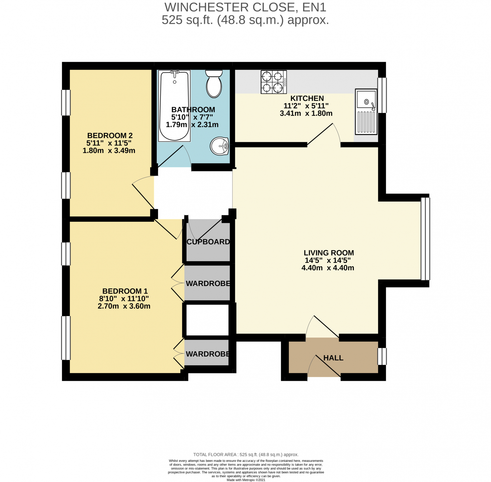 Winchester Close Floor Plan