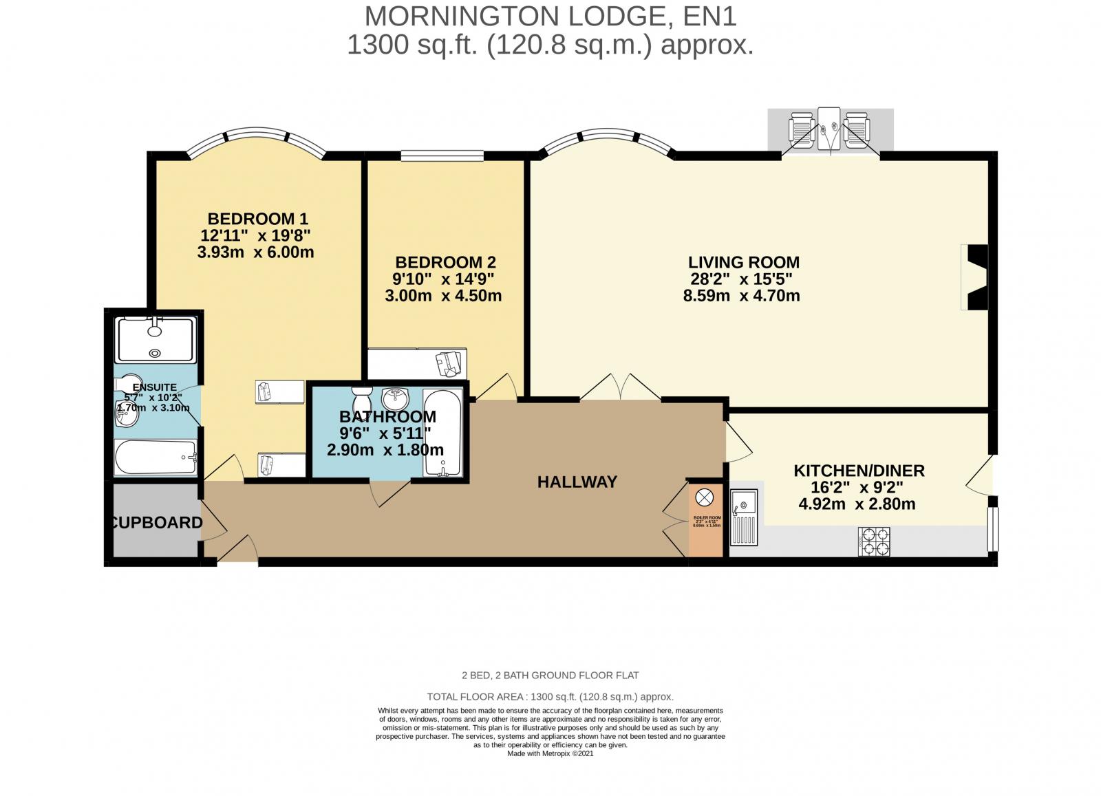 Mornington Lodge Floor Plan
