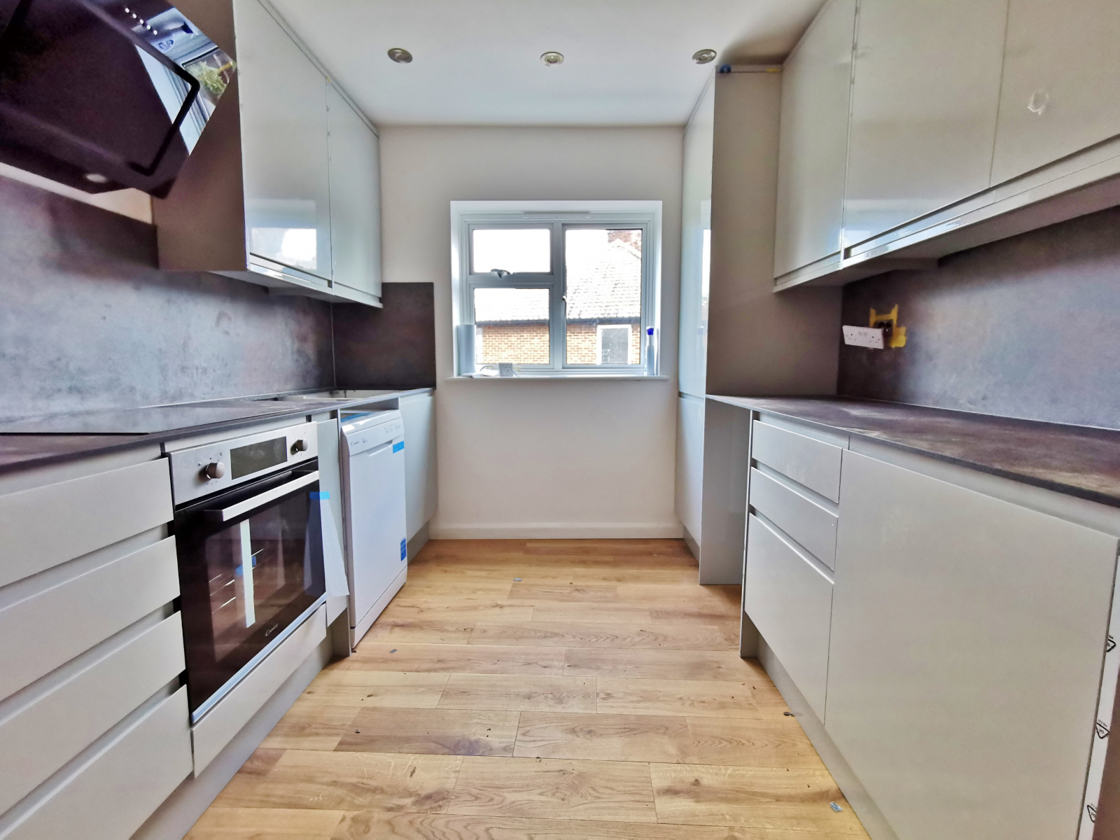 Semi Open-Plan Kitchen