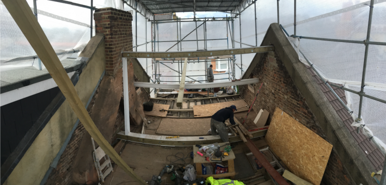 Steels fitted by Chelsea Square