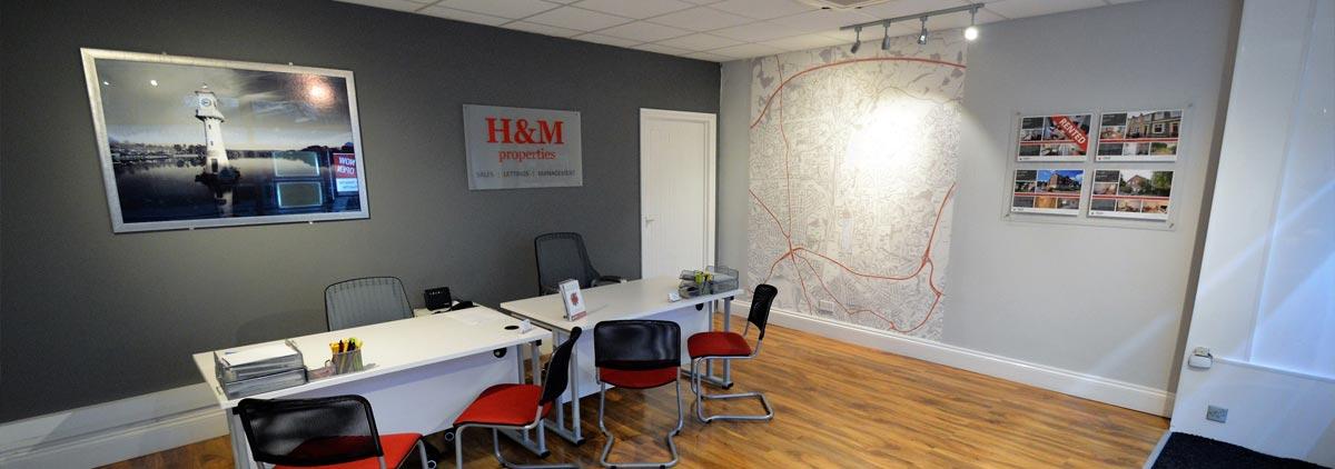 H&M Properties Cardiff Office